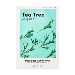 MISSHA Airy Fit Sheet Mask (Tea Tree)-Pleťová maska s extraktom Tea Tree