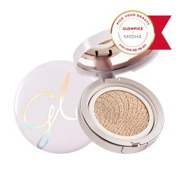 MISSHA Cover Glow Cushion (No.22/Beige)-Rozjasňujúci cushion make up