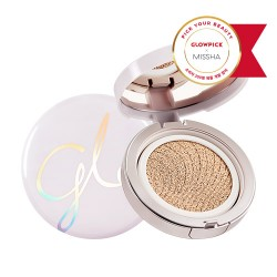 MISSHA Cover Glow Cushion (No.23/Sand)-Rozjasňujúci cushion make up