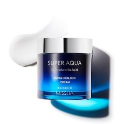 MISSHA Super Aqua Ultra Hyalron Cream – Hydratačný pleťový krém