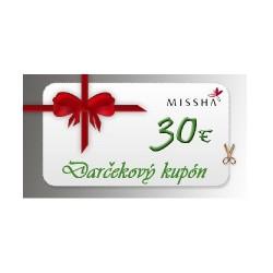 Darčekový kupón 30€